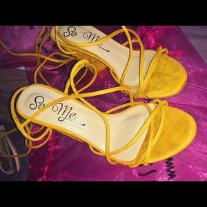 f91d0a29334 Fashion Nova Shoes - Wrap Her Up Heeled Sandal